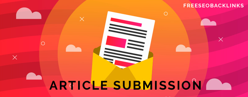 article submission list - freeseobacklinks